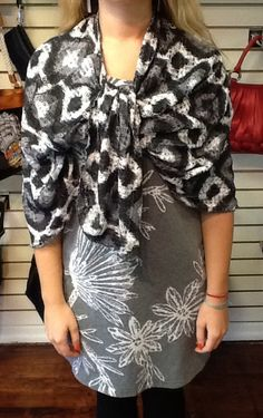 #BeforeAndAgainClothing ponchos are lovely for any weather! #PeaceByPieceCo #ShopSmallBelleville #Poncho
