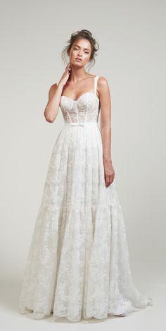 wedding dress Courtesy of LIHI HOD Wedding Dresses - weddingdress Dresses To Wear To A Wedding, Wedding Dress Trends, Dream Wedding Dresses, Bridal Dresses, Wedding Ideas, Wedding Stuff, Wedding Venues, Wedding Photos, Pretty Dresses