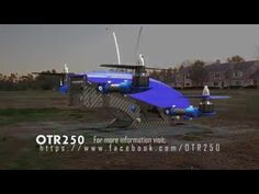 OTR-250 a new FPV drone racer with an innovative design