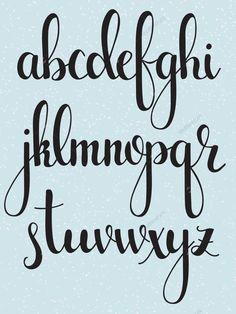 Resultado de imagen de lettering abecedario