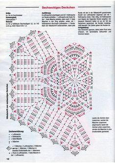 Fabulous Crochet a Little Black Crochet Dress Ideas. Fabulously Georgeous Crochet a Little Black Crochet Dress Ideas. Filet Crochet, Mandala Au Crochet, Free Crochet Doily Patterns, Crochet Doily Diagram, Crochet Chart, Thread Crochet, Crochet Motif, Crochet Designs, Crochet Stitches