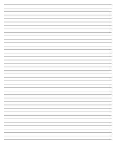 printable #templates                               Printable Sheets    Don't need anything fancy? Then try out this simple lined blank page. If you don't have any notebooks on hand, these blank sheets are great for note taking or to-do lists.
