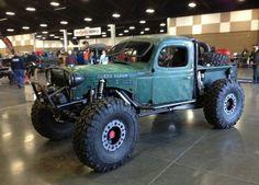 Dodge Power Wagon rock climber