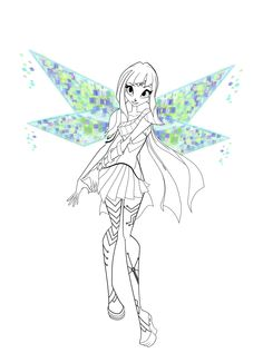 STELLA Coloring Pages