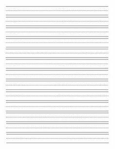 Lined Paper for Handwriting Practice | SecondGradeSquad.com ...