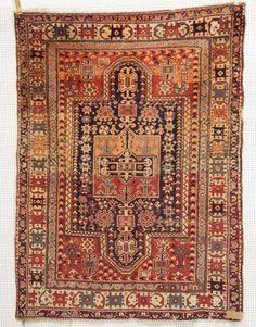 Bergama, um 1820, 207 x 150cm, Zustand C