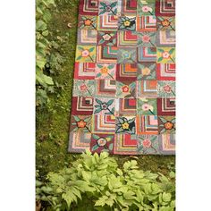 Dash and Albert Rugs Hooked Gypsy Rose Rug, 3 x 5, $198