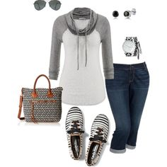 Play Group at the Park- Plus Size Outfit