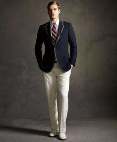 Dapper Film Fashion - The Great Gatsby Style Influences the Latest Brooks Brothers Collection (GALLERY)