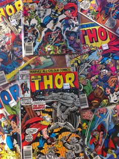 Harvey's Thor collection
