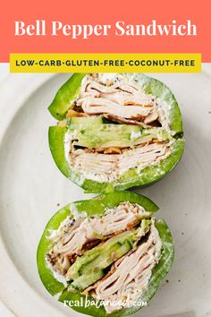 Keto Lunch Ideas, Lunch Recipes, Low Carb Recipes, Summer Recipes, Free Recipes, Low Carb Lunch, Lunch Meal Prep, All You Need Is, Low Carb Sandwiches