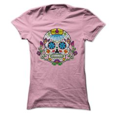 Tattoo Style Sugar Skull T Shirts will make great Christmas gifts for some of your friends or family. Great sugar skull designs on high quality shirts.