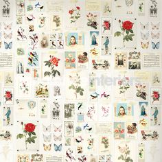 Wallpaper, Eiffinger Pip collection Brocante