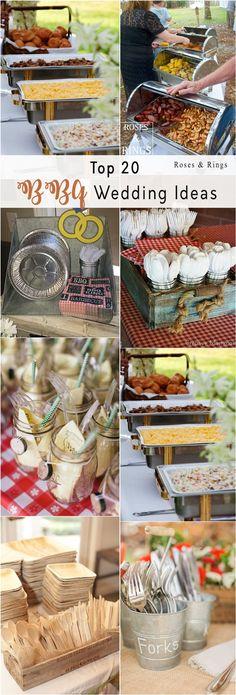 Backyard i do bbq wedding ideas #weddings #countryweddings #weddingideas #bbq