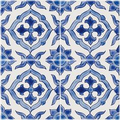 Tiles from Fired Earth - Andalucia Jerez pattern