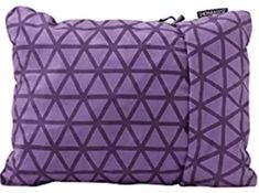 Therm-a-Rest Compressible Travel Pillow for Camping Camping Pillows, Pillow Reviews, Best Pillow, Louis Vuitton Damier, Throw Pillows, Pattern, Rest, March, Bags
