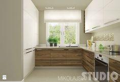 Znalezione obrazy dla zapytania mała kuchnia nowoczesna z oknem