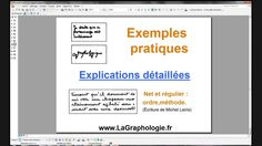 Graphologie is the study of an individual's personality traits through a close assessment of the handwriting