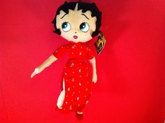 BETTY BOOP PLUSH TOY RED DRESS KELLY TOYS SOFT STUFFED CARTOON CHARACTER DOLL | Toys & Hobbies, Stuffed Animals, Other Stuffed Animals | eBay!