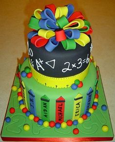 "from CakeWrecks.com ~ ""Sunday Sweets: Back To School"" ~ September 9, 2012"