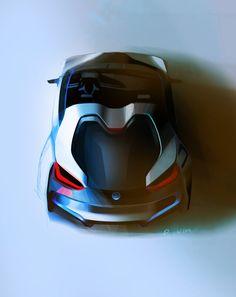 BMW i8 Concept Spyder Sketch