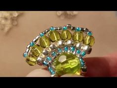 Baby Bali Earrings Tutorial by The Alluring Bead Boutique - YouTube