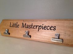 """Children's Artwork Display Sign...for my future """"gifts"""" from my special little people."""