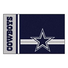 Target Rugs Dallas Cowboys Uniform Inspired Starter Area Rug Floor Mat X Floor mats and Rugs