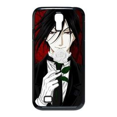 New Style Japanese Anime Series Black Butler SamSung Galaxy S4 I9500 Case Black Butler Galaxy S4 Cover