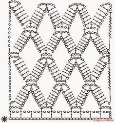 Crochet Lace Spider Stitch Diagram + step by step