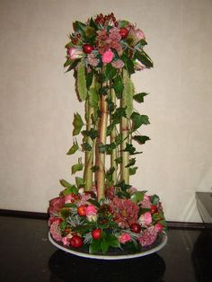 Pretty Flowers, Fresh Flowers, Silk Flowers, Creative Flower Arrangements, Floral Arrangements, Deco Floral, Floral Design, Ikebana, Flower Designs