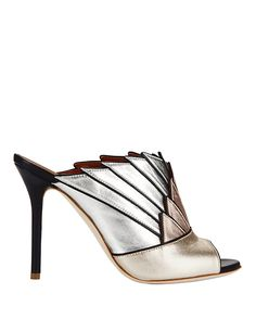 Malone Souliers Donna Metallic Colorblock Sandals