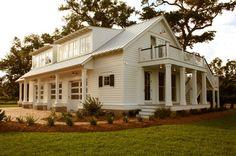 nice idea for side entrance & upper deck...