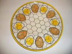 Image detail for -Vintage Kitchen, plastic Deviled Egg plate with chicken eggs Fresh Chicken, Chicken Eggs, Farm Chicken, Deviled Egg Platter, Deviled Eggs, Cake Dome, Egg Cups, Vintage Kitchen, Decorative Plates