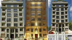 نمای ساختمان کافی آبادی Jacuzzi, International Real Estate, Luxury Homes, Multi Story Building, Modern Buildings, Real Estates, Architecture, Luxurious Homes, Luxury Houses