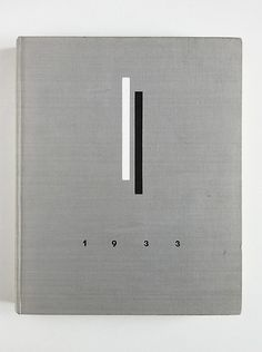 1933 Source unknown. Book Cover Design Cloth Bound Screenprint Typography Bauhaus