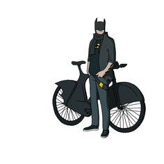 Hipster Batman!