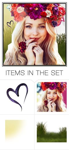 """""""Flowers in your hair"""" by nanni33 ❤ liked on Polyvore featuring art"""