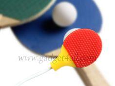 Fone de ouvido raquete de ping pong. | ROCK N TECH