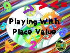 This4th grade Common Core aligned bundle of math place value partner games is…
