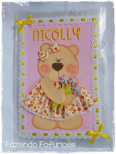 Fazendo Fofurices   : Pasta decorada Nicolly