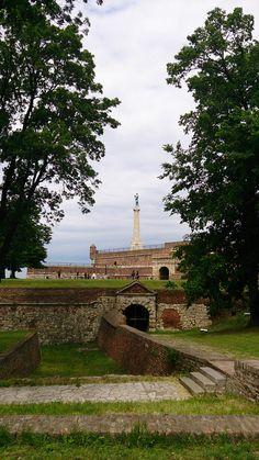 Kalemegdan i Pobednik. Beograd.