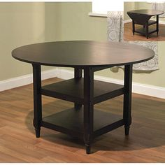 @Overstock - Turn your dining area into an inviting family gathering place with a new table  Dining room furniture is available in a black finish color option  Dining table is a great addition to any home decorhttp://www.overstock.com/Home-Garden/Cottage-Dining-Table/4247735/product.html?CID=214117 $200.69