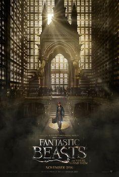 """Primer póster y trailer oficial de """"Animales fantásticos y dónde encontrarlos"""". - Cine - http://befamouss.forumfree.it/?t=71836183"""