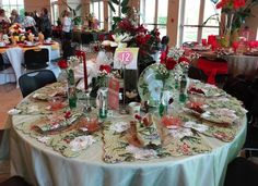 Magnolia Tea (Holiday Tables 2013 Idlewild Baptist)