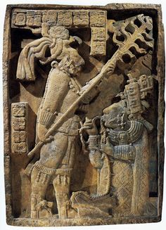 Shield Jaguar and Lady Xoc, Maya, Yachilan, Mexico, ca. Ancient Aliens, Ancient History, Art History, Ancient Mysteries, Ancient Artifacts, Tattoo Odin, Arte Haida, Mayan Cities, Inka