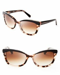 kate spade new york Amara Cat Eye Sunglasses