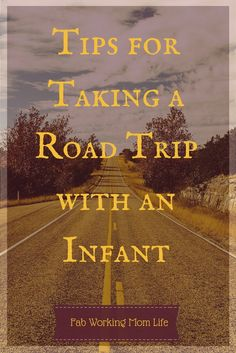Tips for Taking a Road Trip with an Infant. A family road trip 800 miles each way with an 8-month-old is quite interesting. Click to read my tips and how we planned for and survived to enjoy the trip.