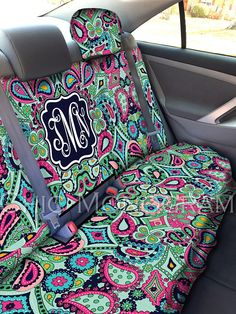 Seat Covers for Vehicle Paisley Jewels Car Seat Covers Front Seat Cover Personalized Car Accessories Seat Cover For Car Back Seat Cover - Paisley, Diy Seat Covers, Car Covers, Back Seat Covers, Best Gag Gifts, New Car Accessories, Preppy Car, Car Essentials, Diy Accessoires