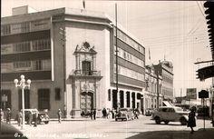 AVE. HIDALGO. TORREON, COAH. ; NATIONAL BANK OF MEXICO BUILDING; ON HIDALGO AVENUE